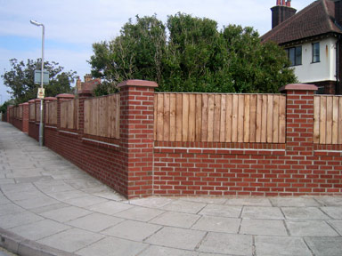 Brick Walls With Railings